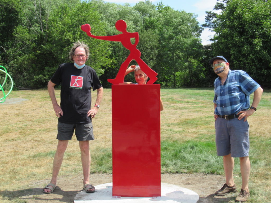 Mark Wholey and Burlington Sculpture Committee