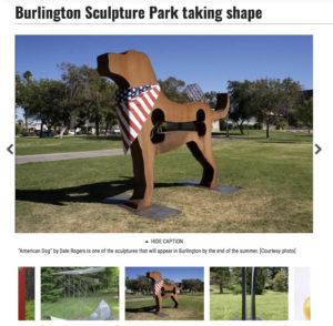 burlington union article